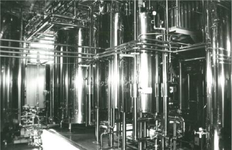 1990年:原料2課脱タンパク蜂蜜製造工場