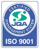 ISO 9001 認定取得